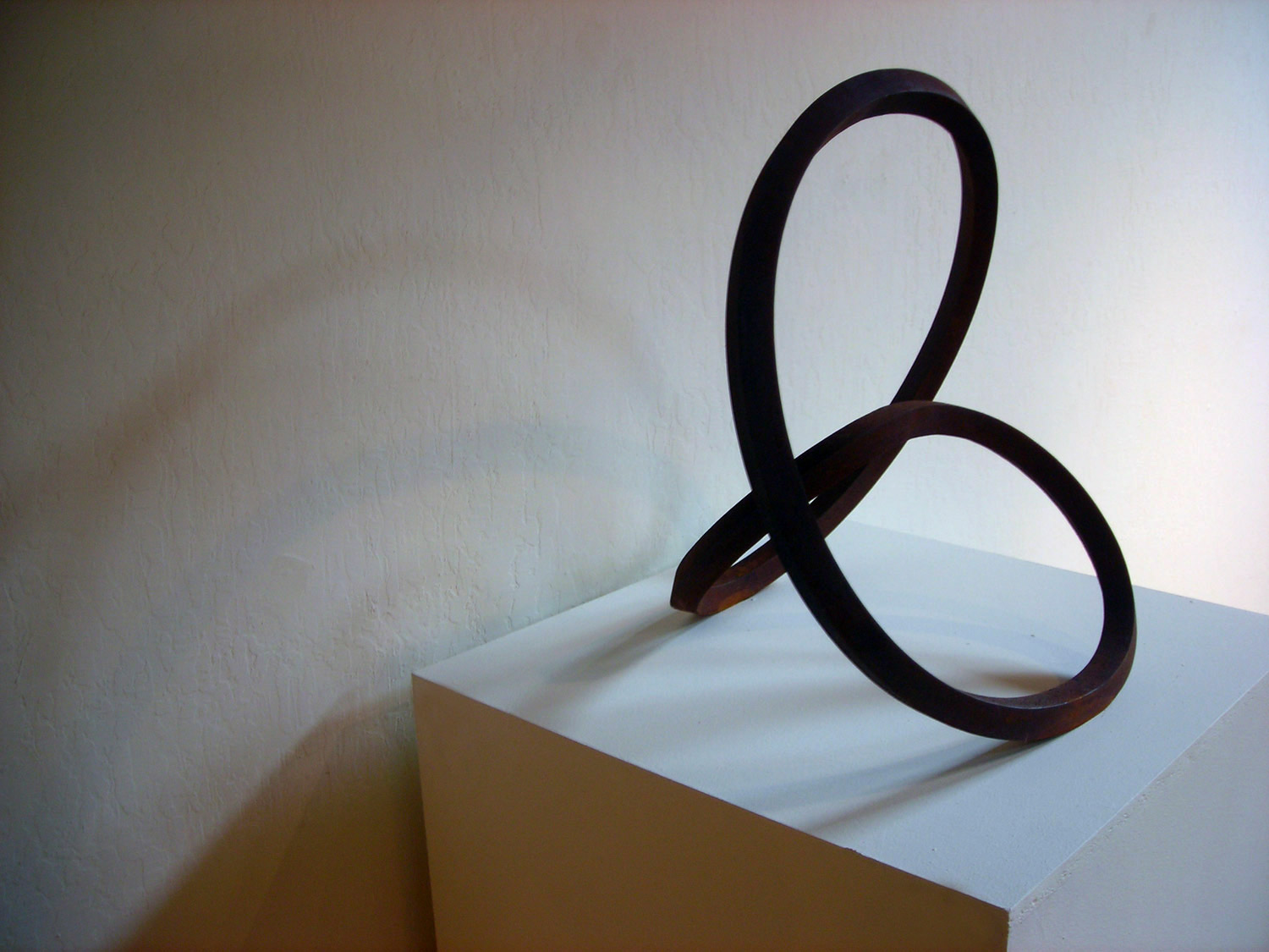Roger Berry - <b>Clover (Maquette)</b>, 2003, corten steel, 20 x 21 x 15 inches