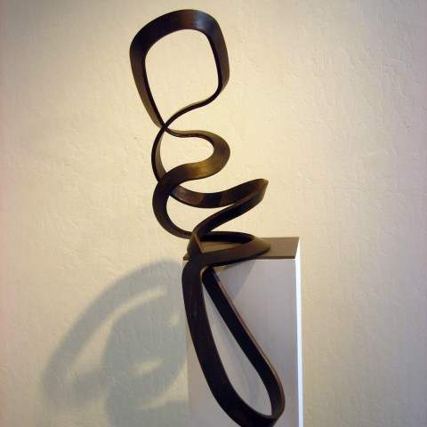 Roger Berry - <b>Missy</b>, 2010, silicon bronze, 20.5 x 30 x 10.5 inches