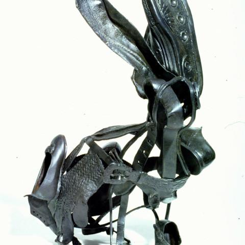 Ken Little - <b>Jackrabbit</b>, 2005, bronze unique casting, 22 x 10 x 12 inches